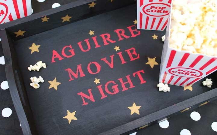 Noite do cinema: como decorar, planejar, dicas e muitas fotos