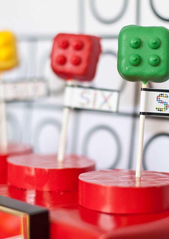 Com um pouco de criatividade é possível montar o que quiser com o tema Lego
