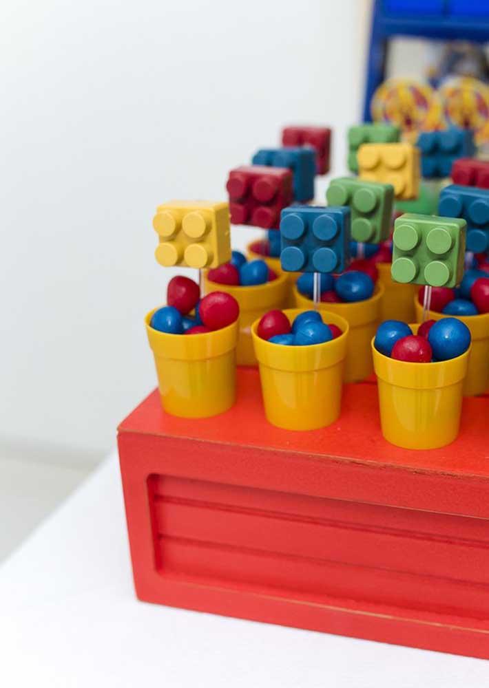 Chicletes e Lego