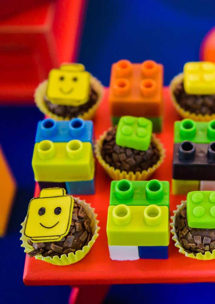 Brigadeiros Lego!