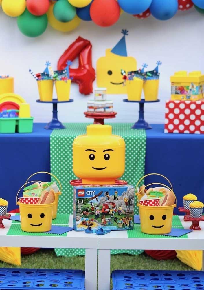 Festa Lego: para todas as idades!