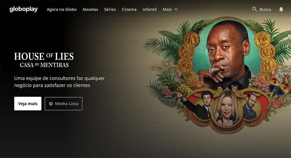 Capa da Globoplay