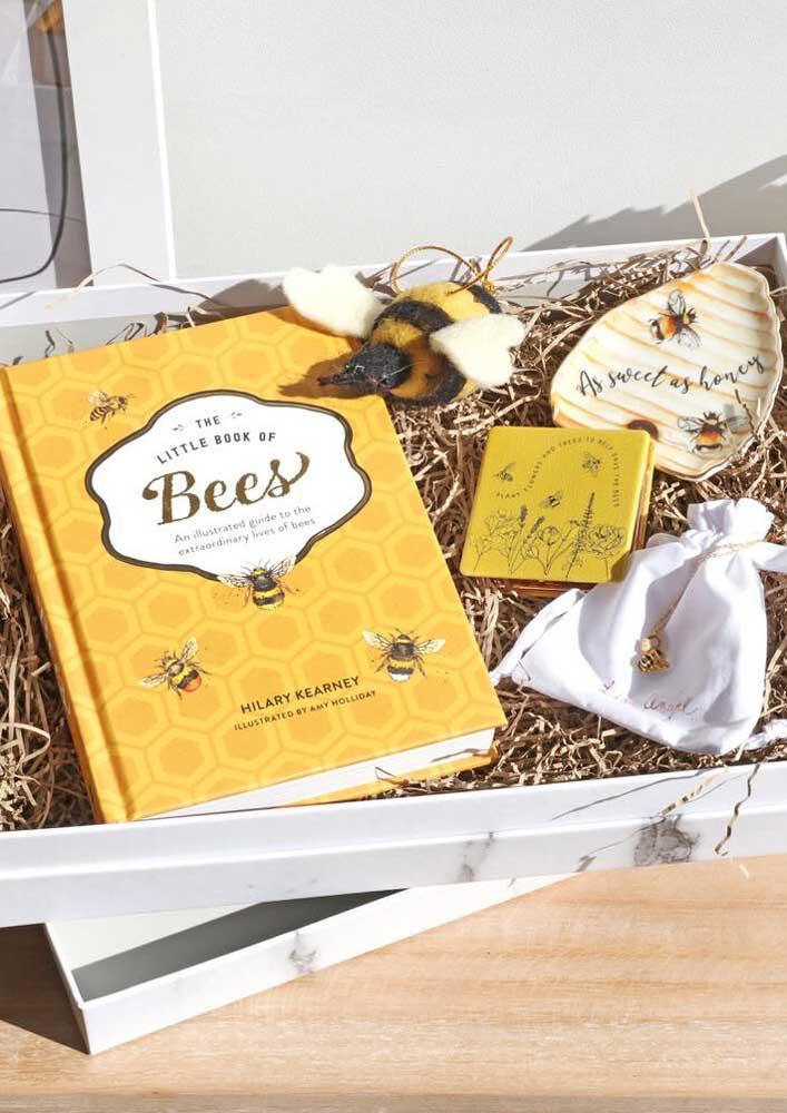 Caixa surpresa inspirada nas abelhinhas