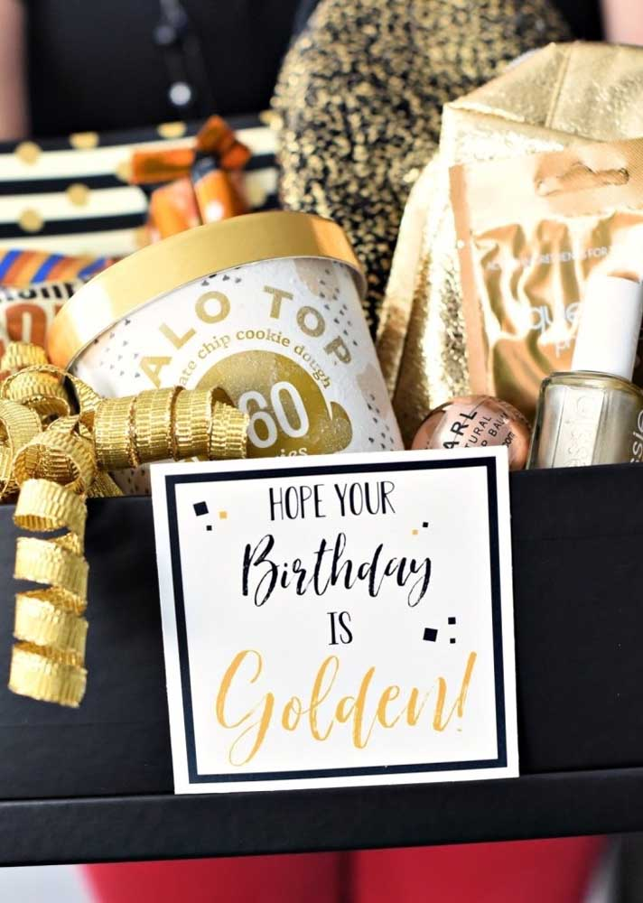 Mesmo sendo uma festa na caixa, dá para comemorar o aniversário com muito estilo