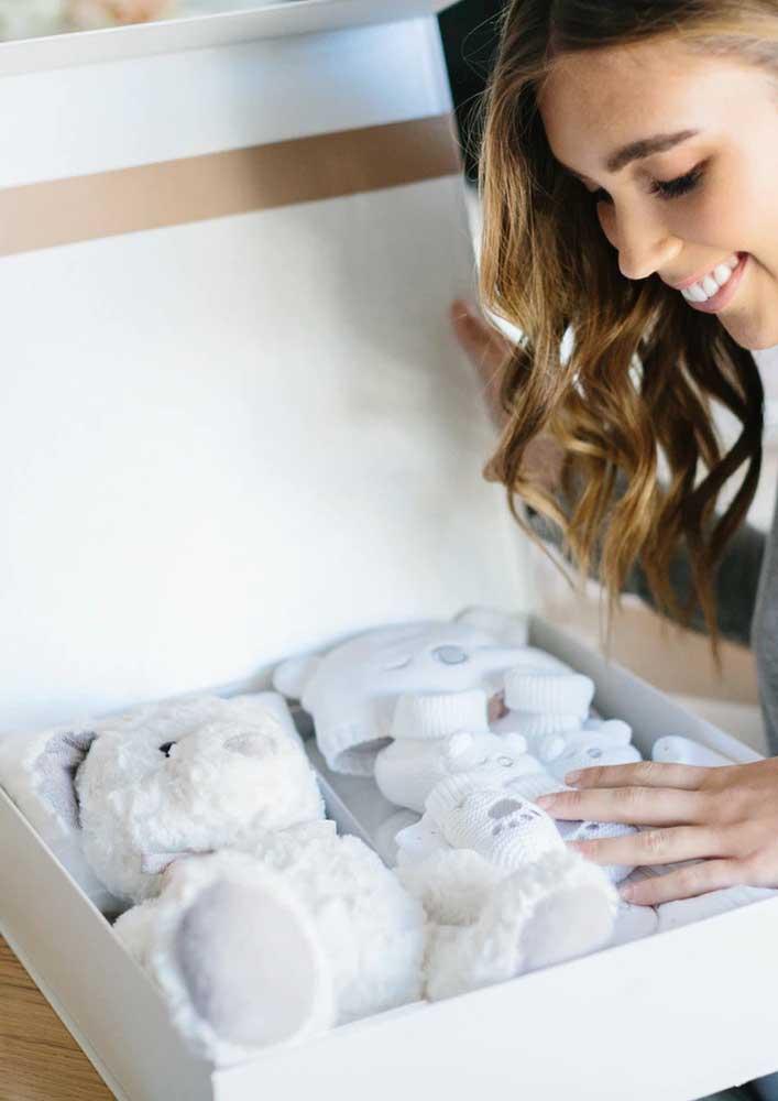 Caixa surpresa de gravidez: presenteie a futura mamãe !