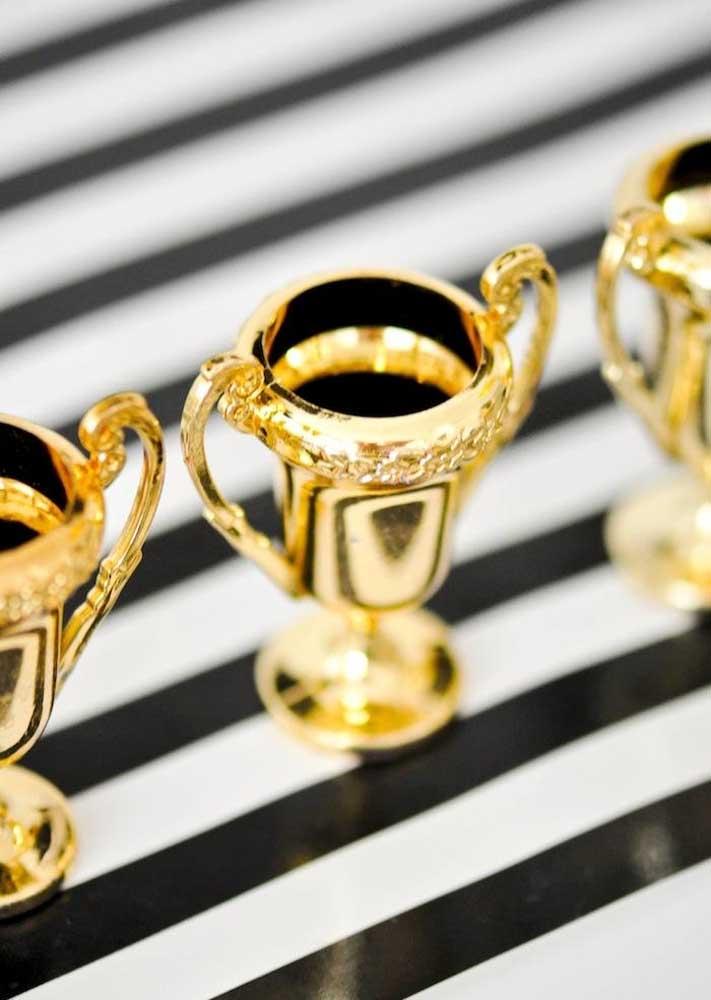 Miniaturas de troféu