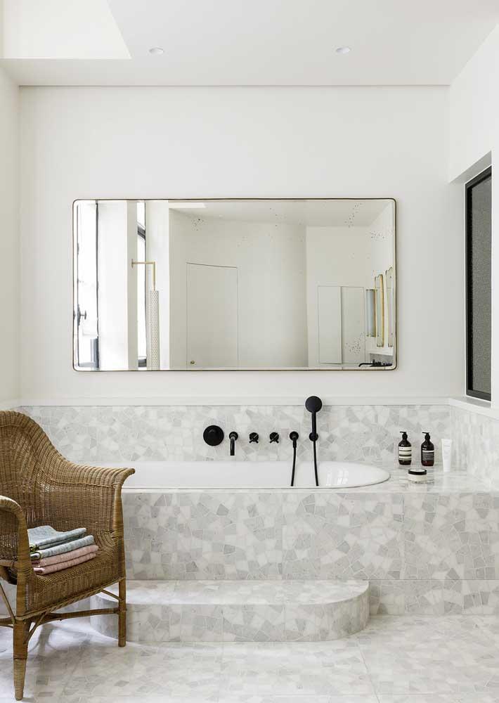 Granilite na banheira? Um luxo!