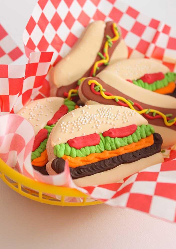 Hambúrguer de massinha!