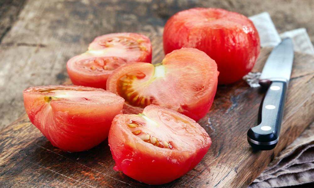 Como tirar pele de tomate