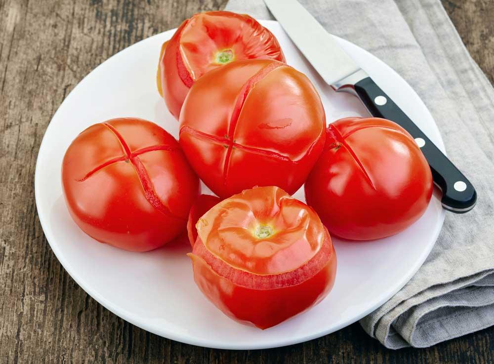 Como tirar pele de tomate passo a passo