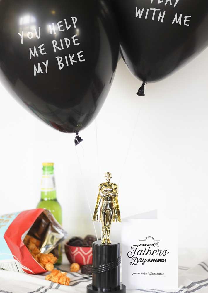 Um Oscar para ele!