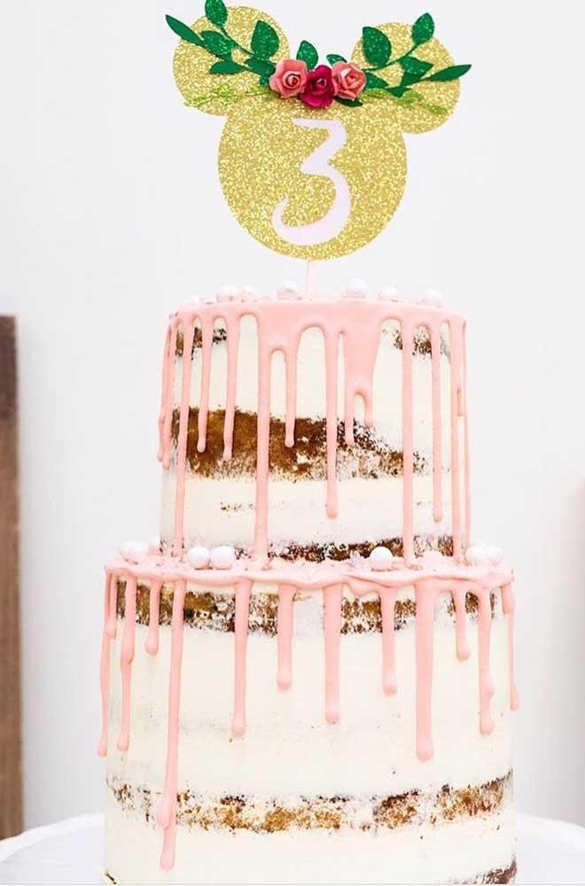 Naked Cake da Minnie