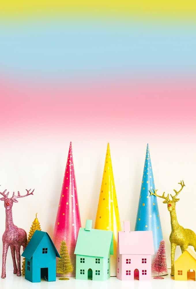 Você pode decorar da forma que quiser e com o seu estilo favorito!