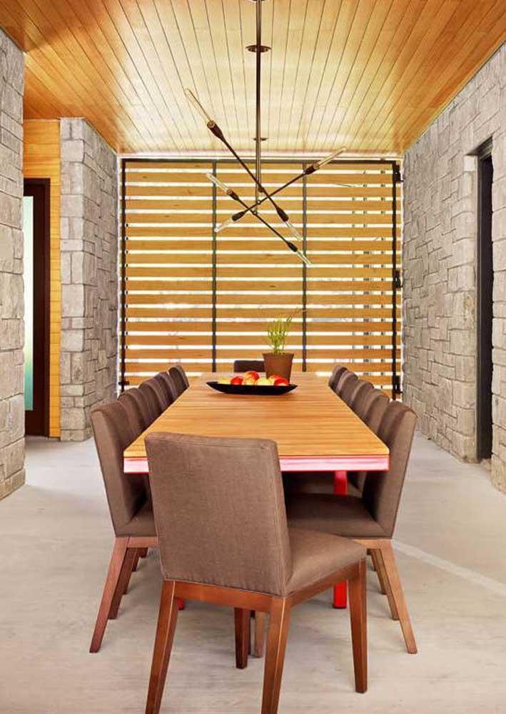 Mesa de jantar 10 lugares para uma grande família