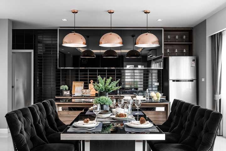 Mesa para sala de jantar: 65 ideias, dicas e fotos inspiradoras para escolher a sua