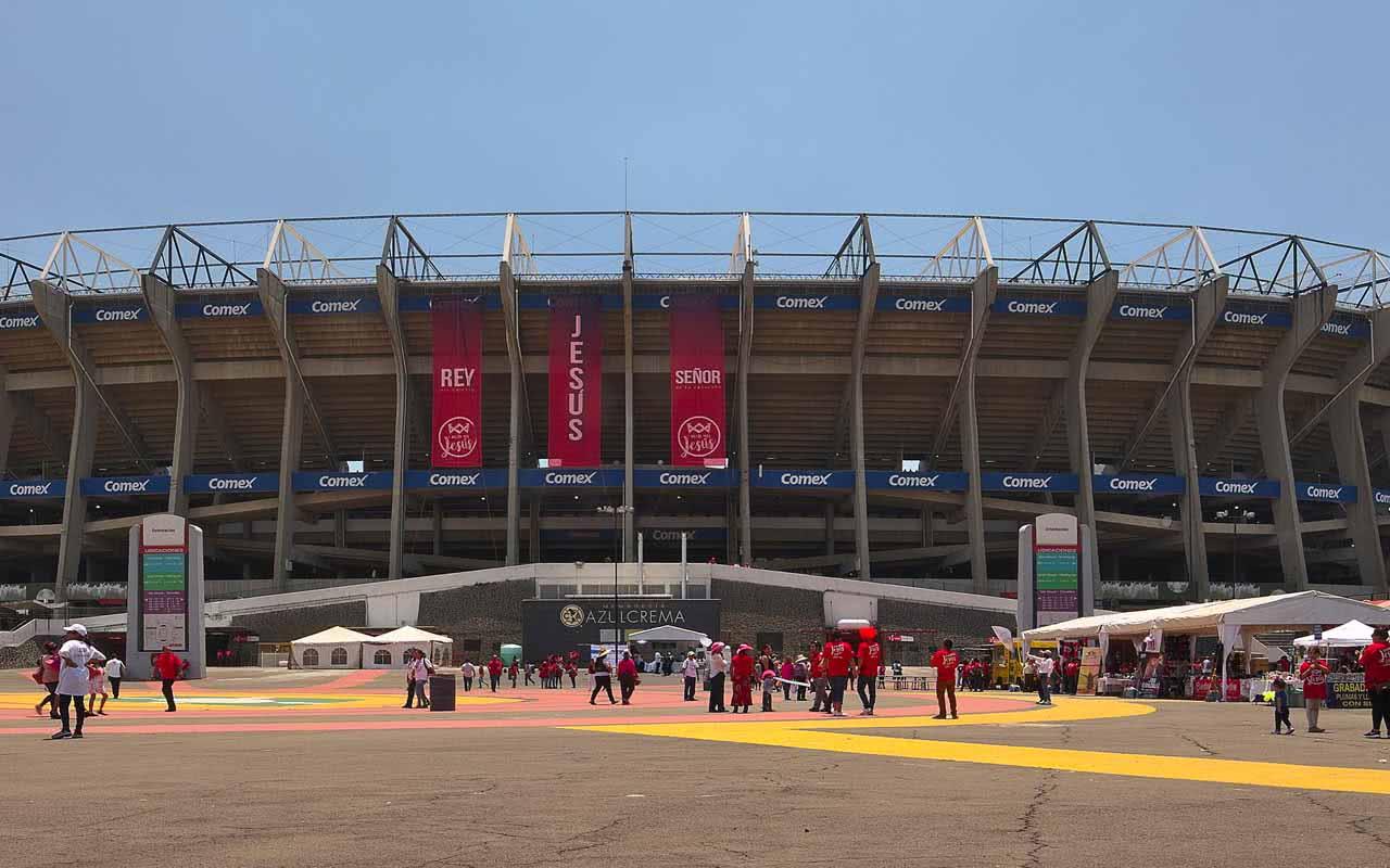 08º - Estadio Azteca – Cidade do México (México)