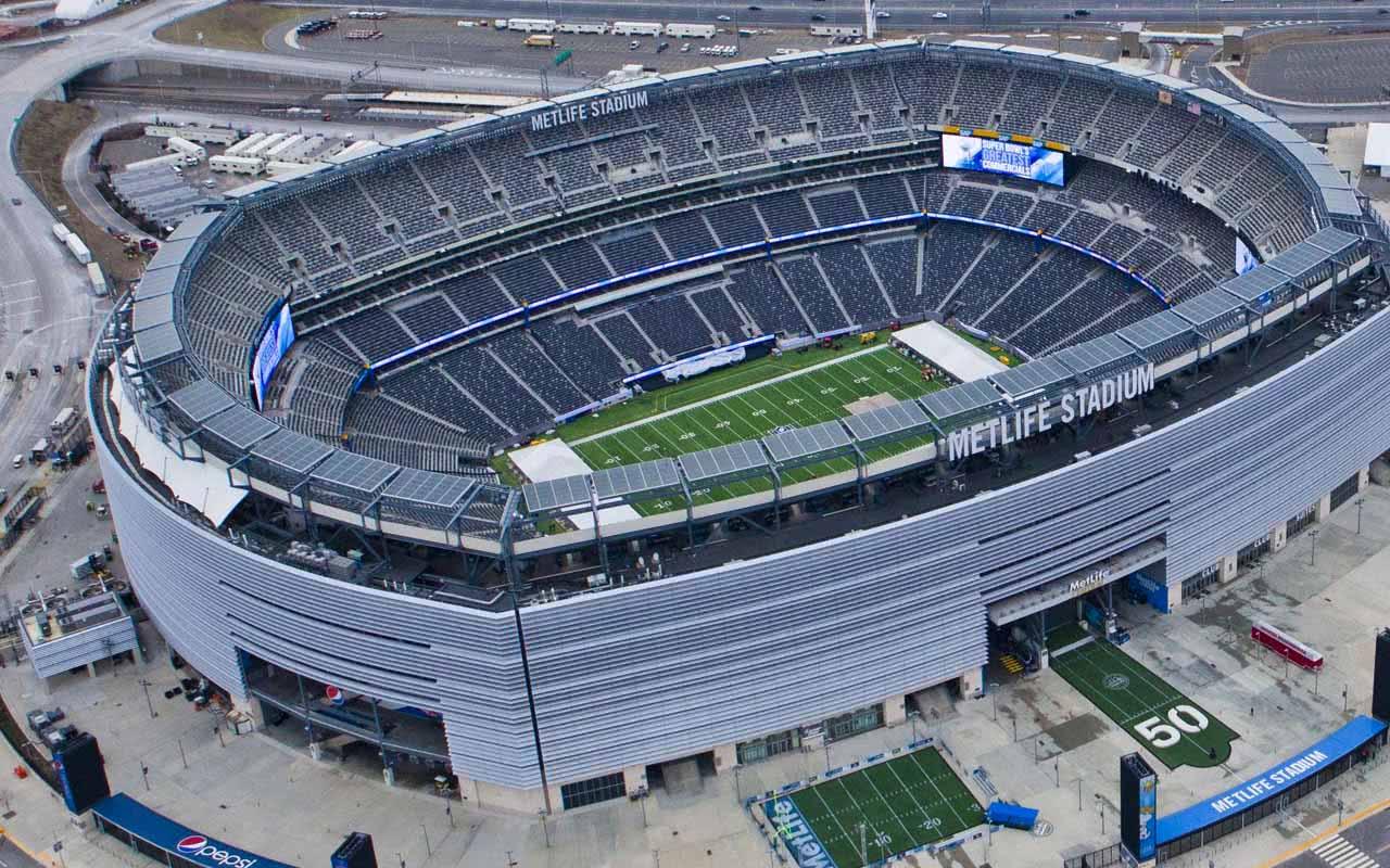 13º - MetLife Stadium – East Rutherford (EUA)
