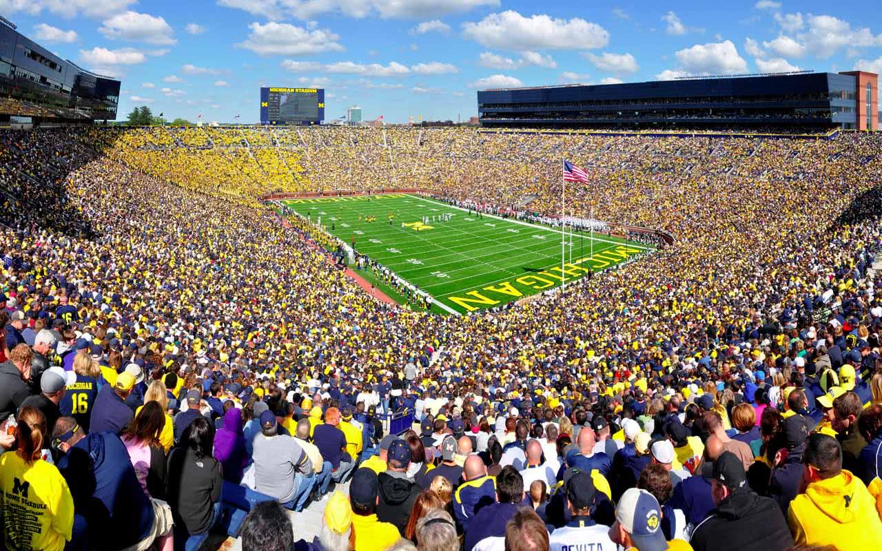 02º - Michigan Stadium – Michigan (EUA)