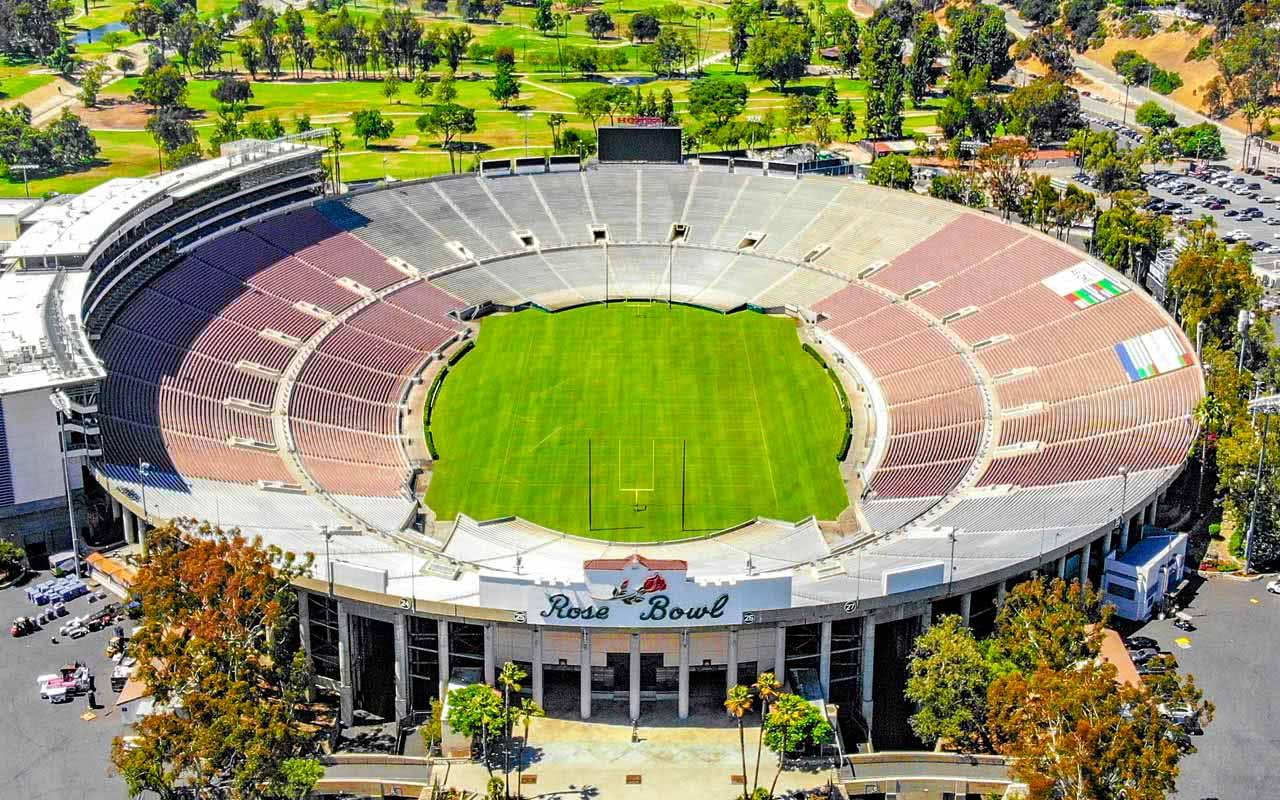 06º - Rose Bowl Stadium – Pasadena (EUA)