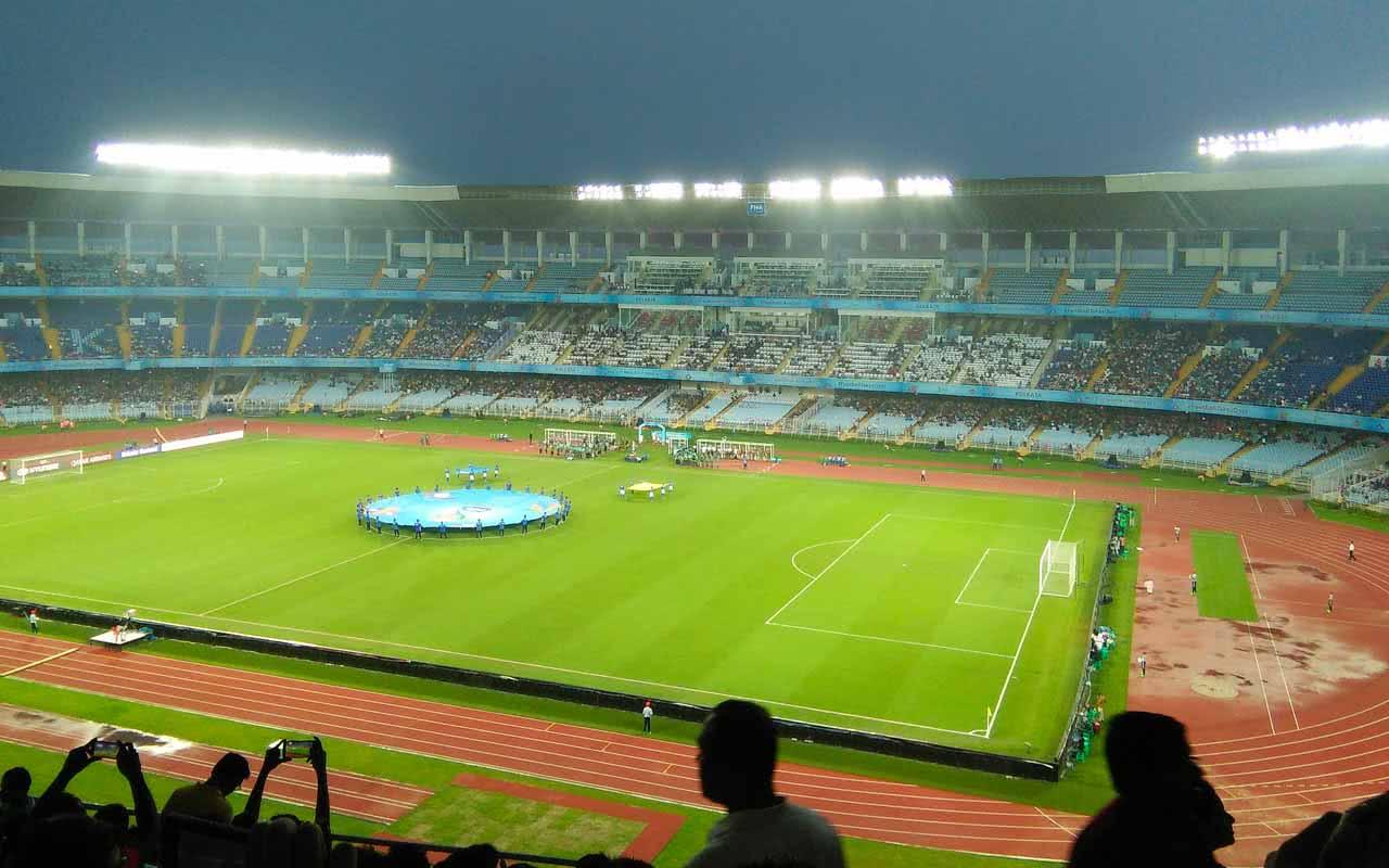 11º - Estádio Salt Lake – Calcutá (Índia)