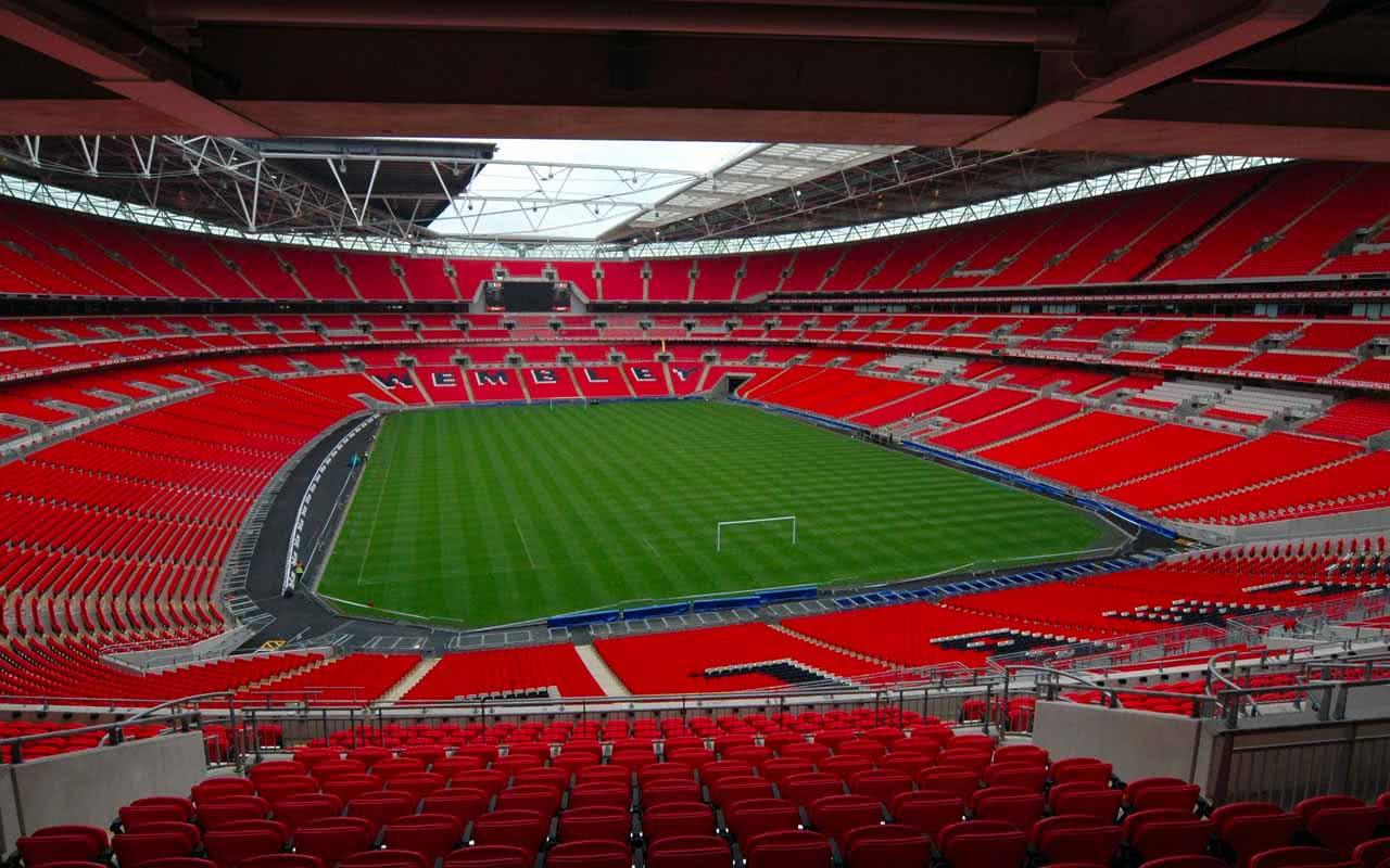 07º - Wembley Stadium – Londres (Inglaterra)