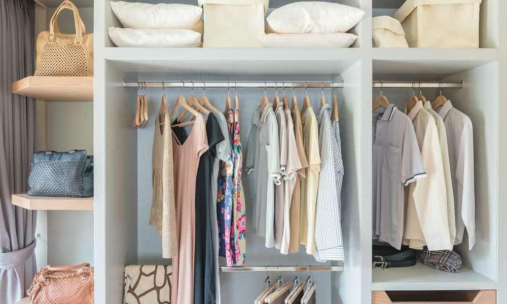 Organização de closet