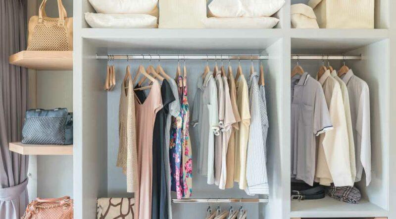 Organização de closet: confira 10 dicas para deixar tudo organizado