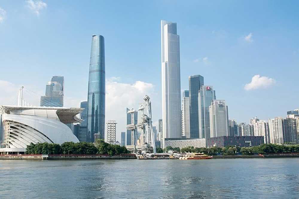 Guangzhou CTF Finance Center (China)