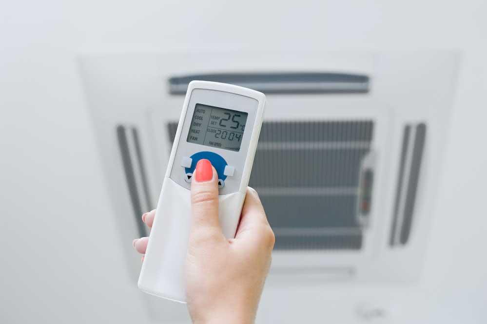10. Desligue o ar condicionado