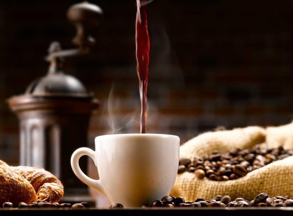 Rolo de papel café