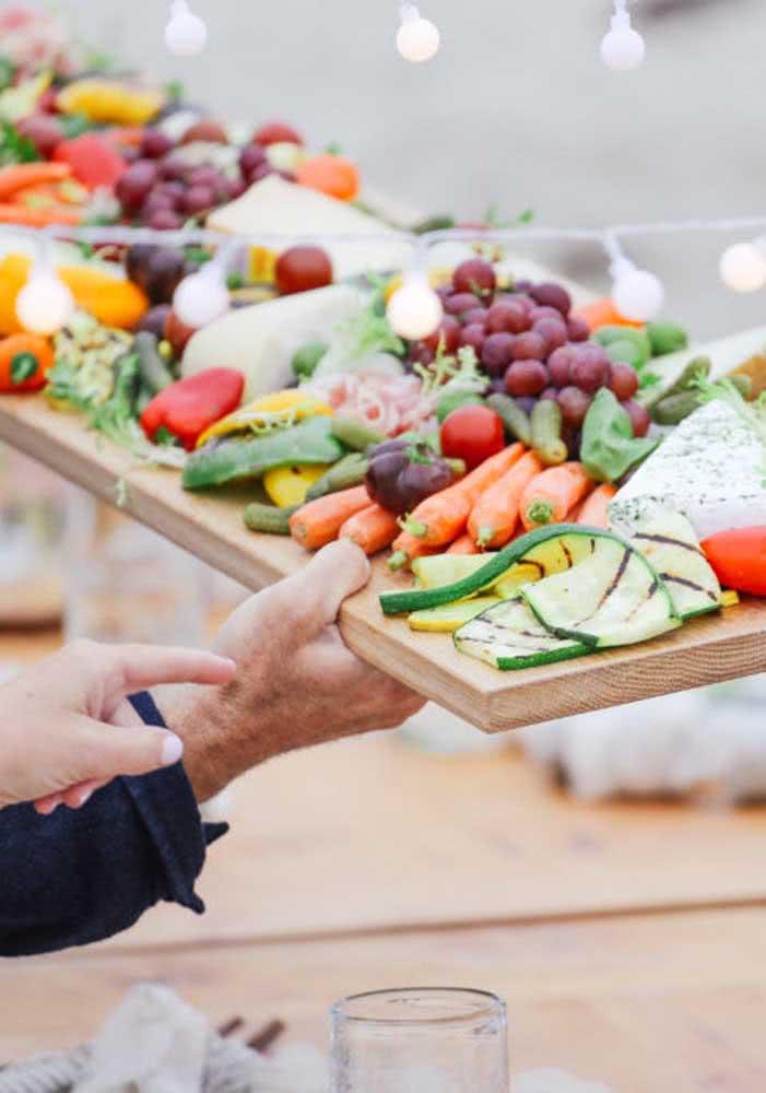 Aposte até em servir alguns legumes junto