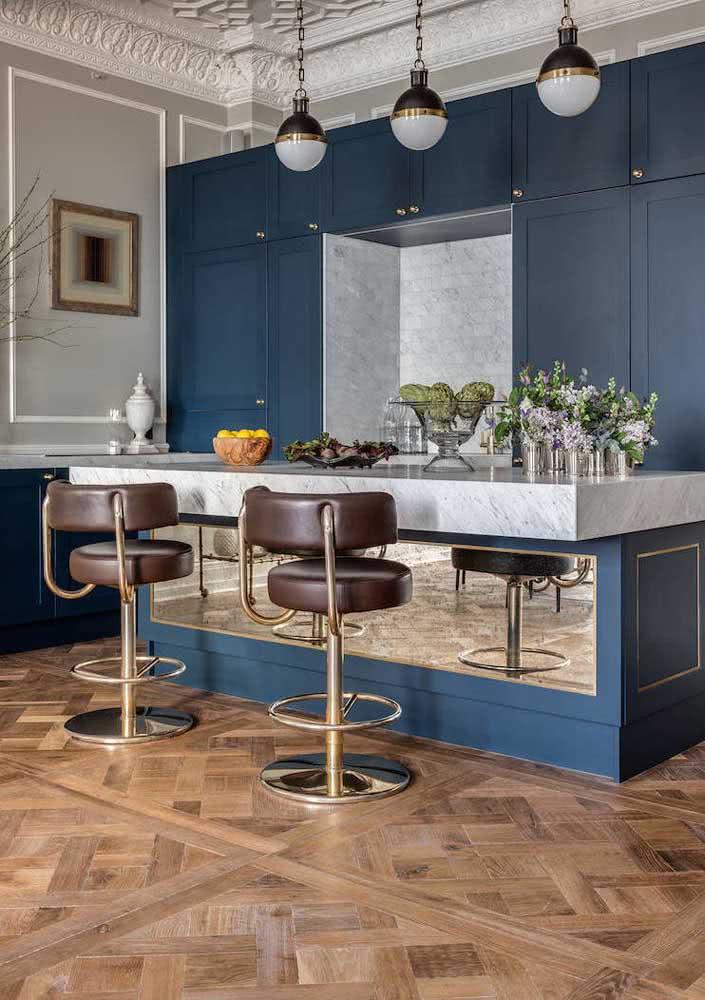 Versátil, o piso parquet se encaixa em qualquer decoração