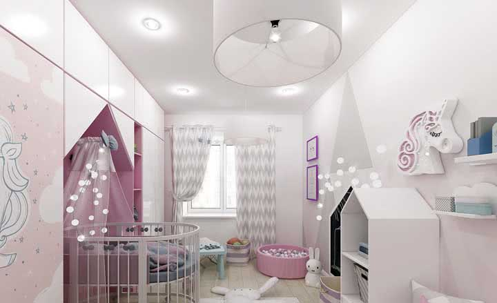 Lustre para quarto de bebê: tipos, dicas para escolher e modelos com fotos
