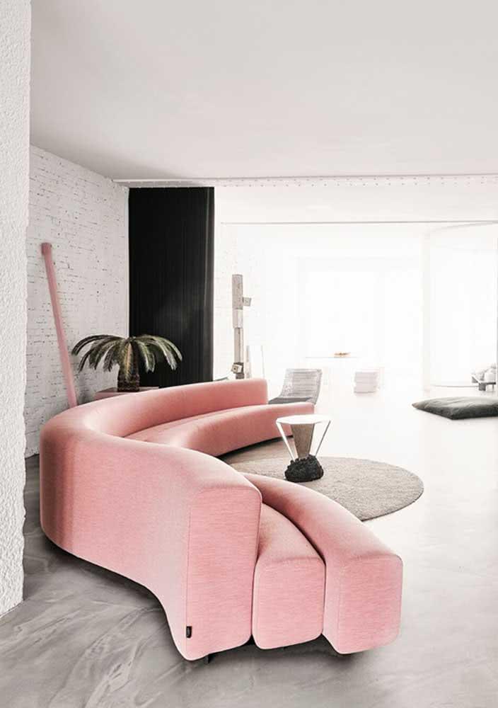 Muito design para um sofá só! Incrivelmente lindo