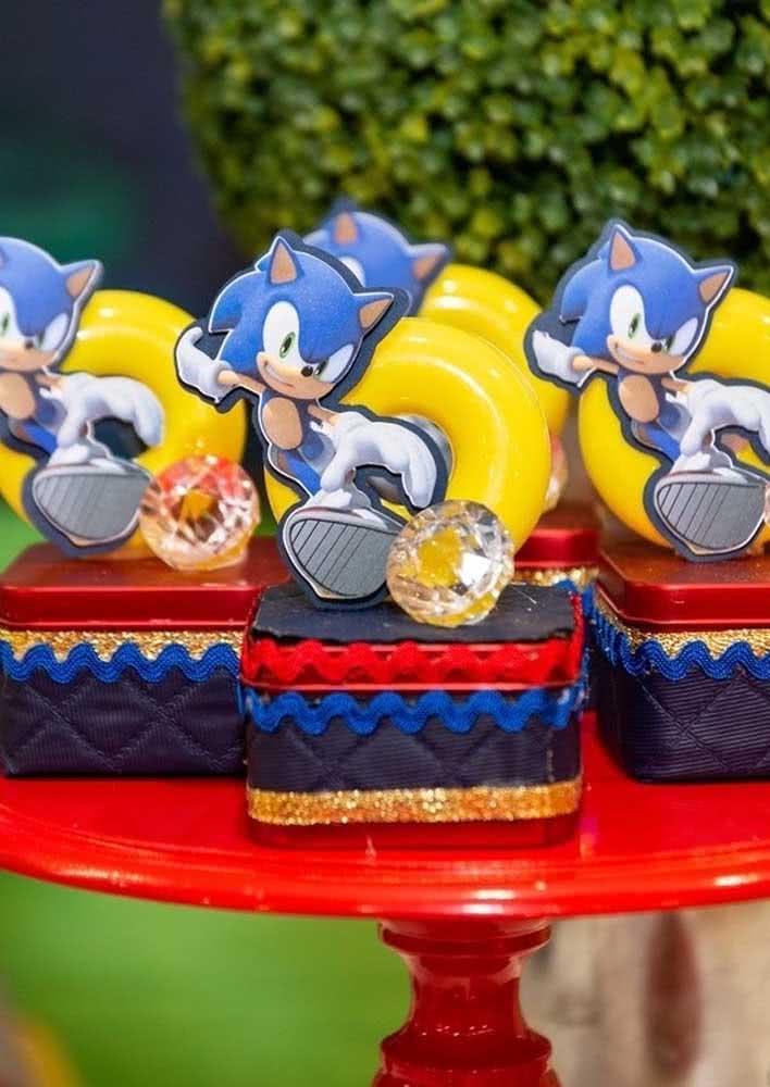 Sonic e as suas esmeraldas!