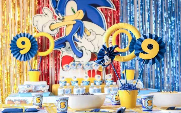 Festa Sonic: dicas para organizar, cardápio e ideias criativas de decoração
