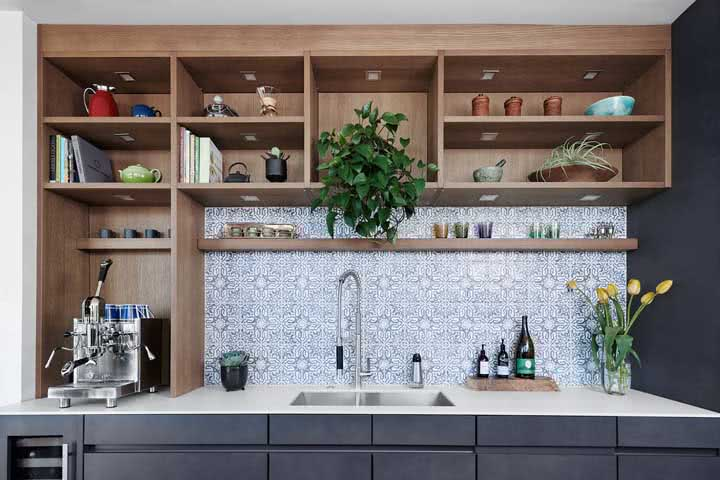 Bancada de porcelanato: combinação perfeita entre funcionalidade e estética