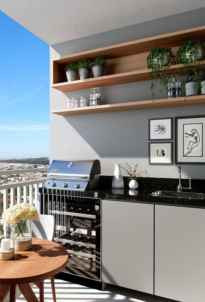 Área gourmet pequena de apartamento: planejamento é a chave do sucesso!