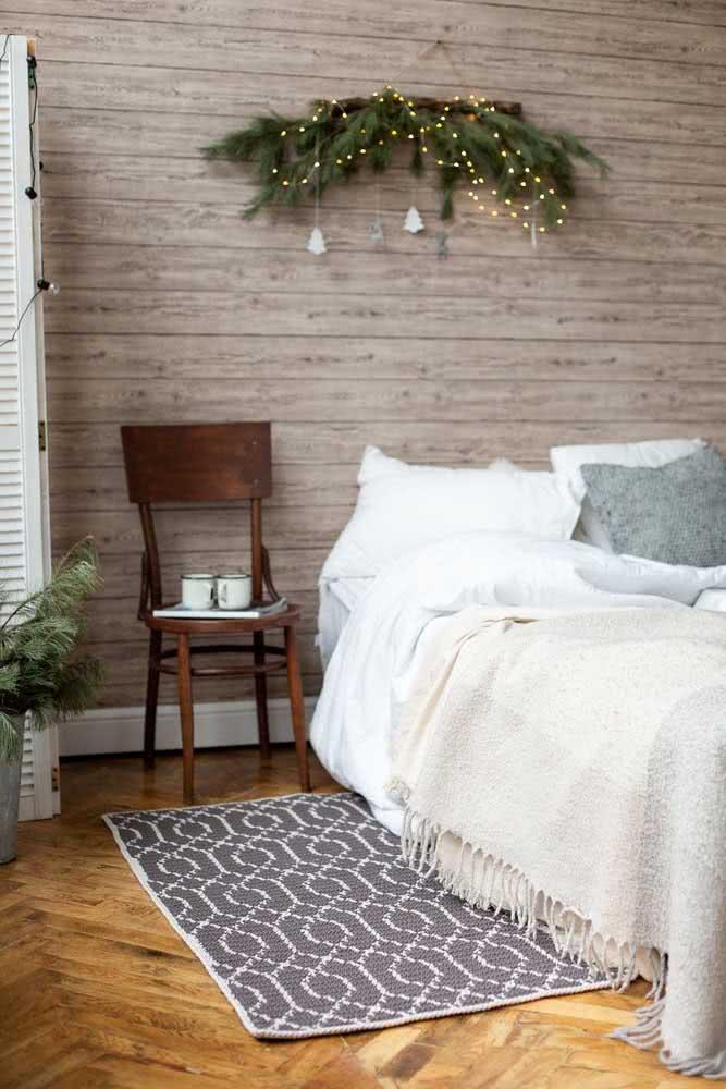 Tapete de crochê cinza para um quarto moderno