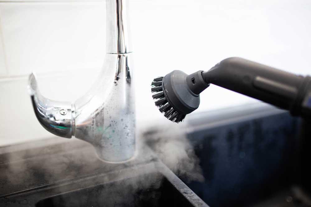Tipos de limpeza a vapor