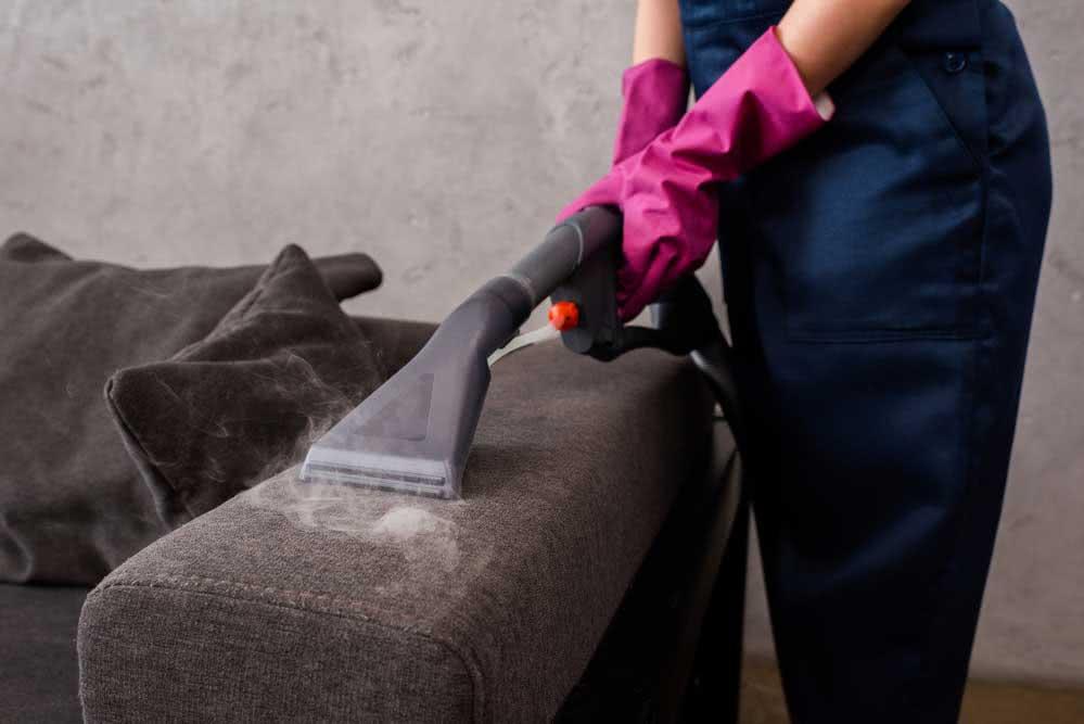 Onde aplicar limpeza a vapor