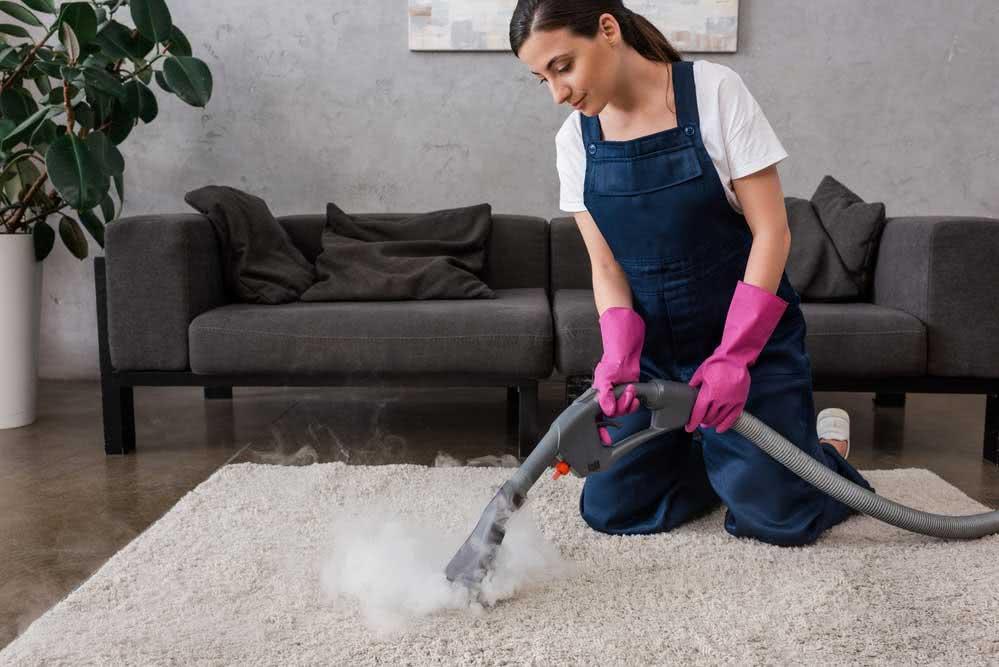 Benefícios da limpeza a vapor