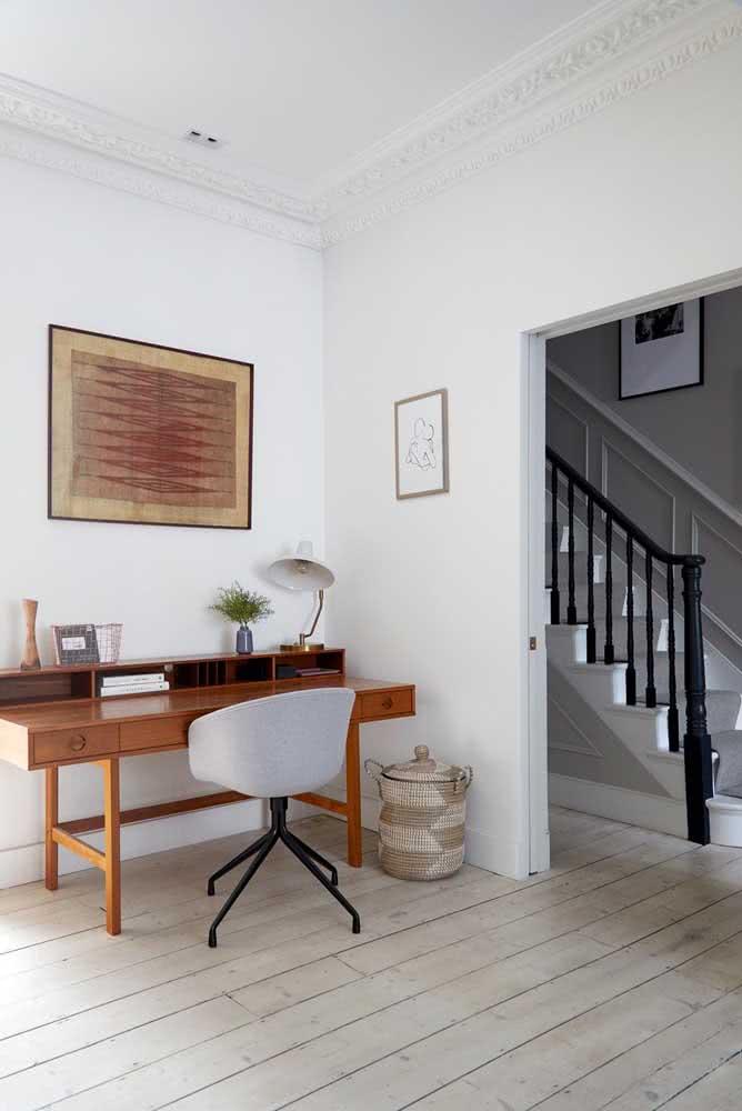 Cadeira para home office em estilo poltrona: confortável e funcional