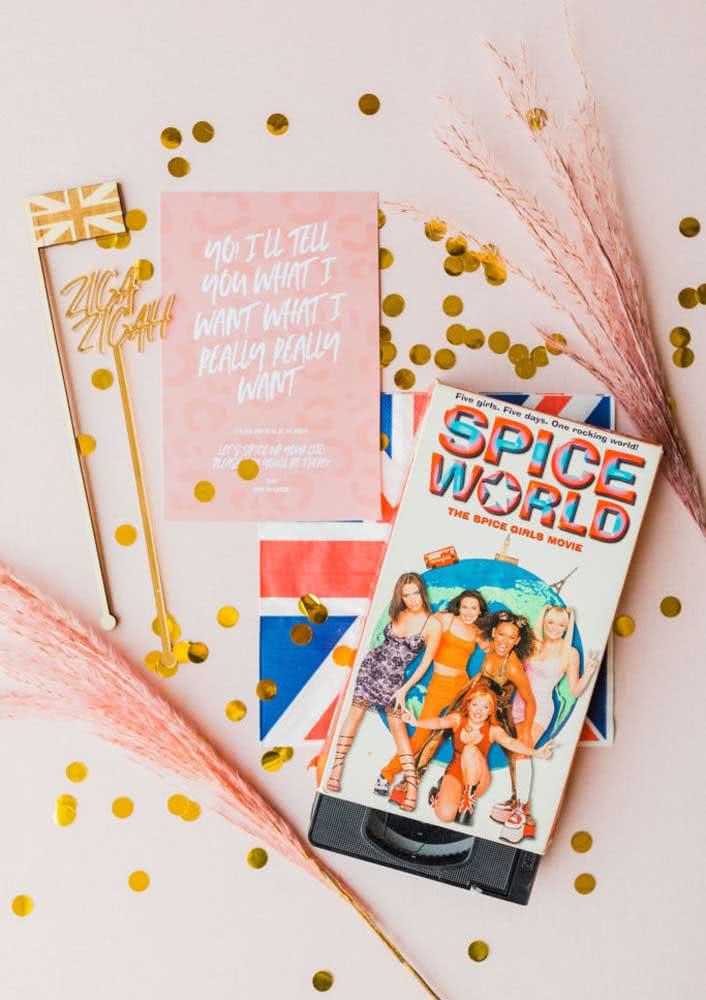 O mundo das Spice Girls na festa de aniversário infantil