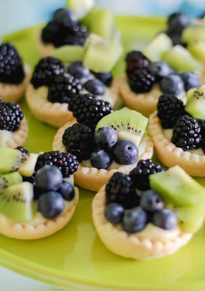 Frutas para uma festa infantil saudável