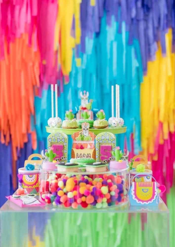 Muitas cores para uma festa mexicana de verdade