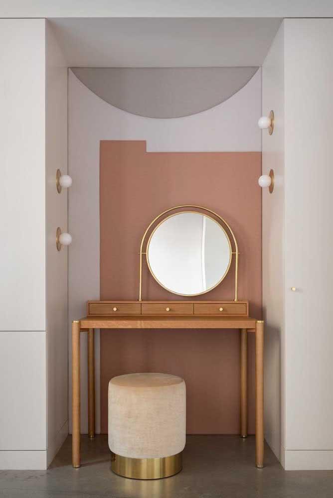 E se você instalasse as lâmpadas na parede ao invés de instalá-las no espelho?