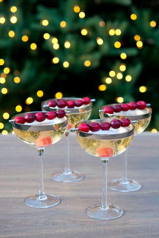 O festão é o pano de fundo perfeito da festa de natal
