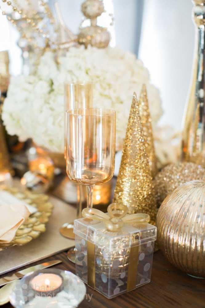 Dourado para quem deseja sofisticação e glamour