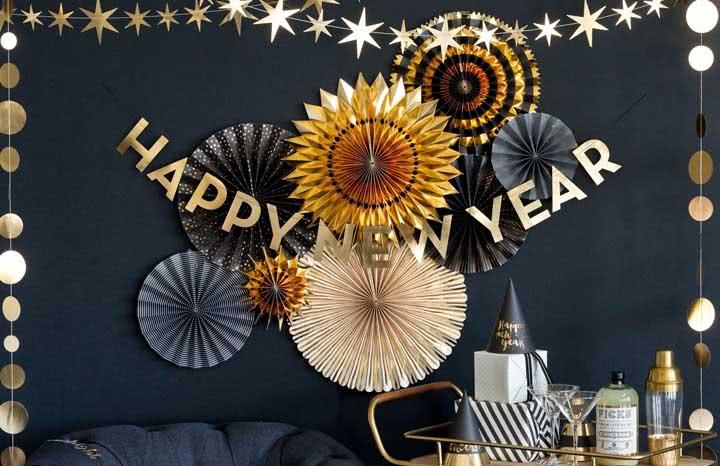 Decoração de Ano Novo: como fazer passo a passo, dicas e fotos incríveis